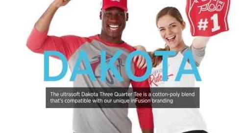 Dakota Three Quarter Tee
