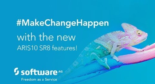 Making change happen with the new ARIS 10 SR8 features