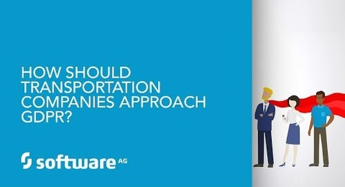 Episode 12: How should transportation companies approach GDPR?