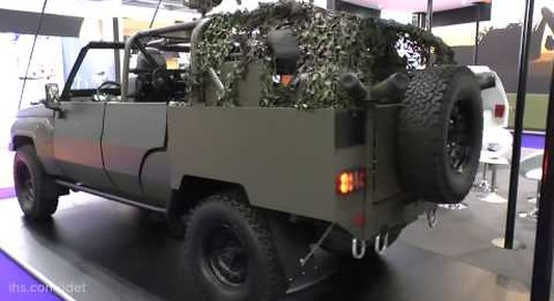 "DSEI 2015: Jankel showcases latest ""Fox"" Rapid Response Vehicle (RRV)"