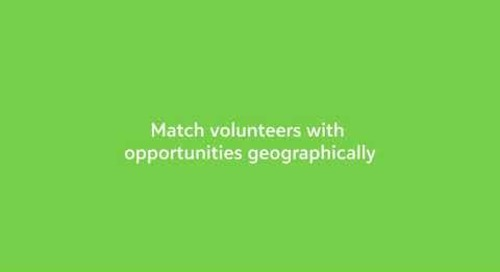 Manage Volunteers, Positions, and Opportunities with Blackbaud Church Management
