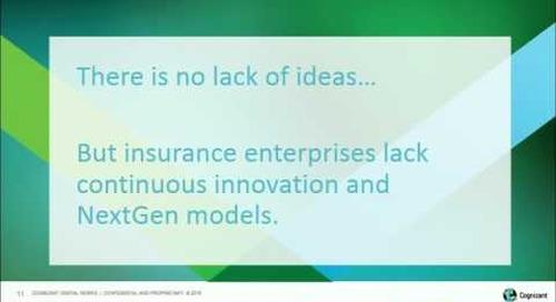 Lean Innovation in Insurance with Cognizant Digital Foundry — Satish Venkatesan, Rag Ramanathan