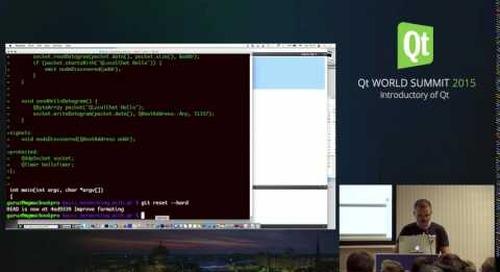 QtWS15-  Basic Networking with Qt, Markus Goetz, Woboq GmbH