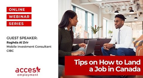 Tips on How to Land a Job in Canada