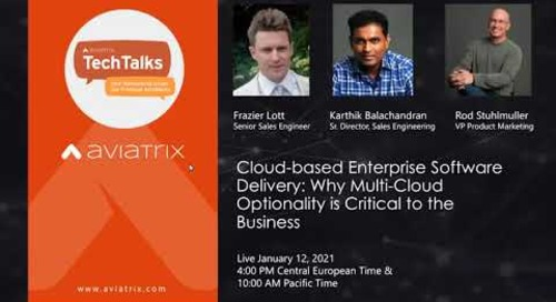 TechTalk   Cloud-based Enterprise Software Delivery: Why Multi-Cloud Optionality is Critical