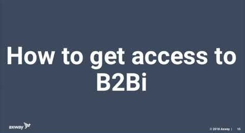 Upgrade your interchange and access to modern B2B Integration capabilities