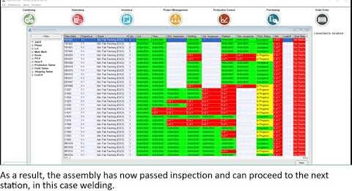 Inspections and quality assurance in Tekla EPM