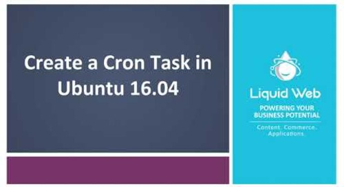 How to Create a Cron Task in Ubuntu
