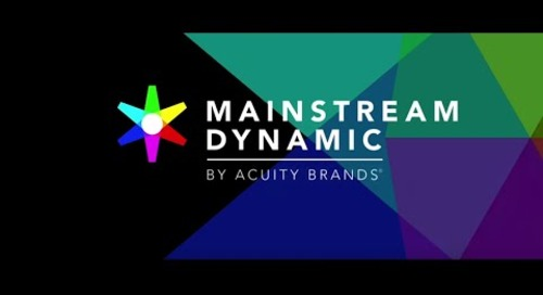 Mainstream Dynamic Lighting Solutions by Acuity Brands