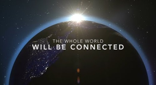 The whole world will be connected