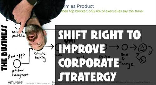 Tanzu Talk: Shift right to improve corporate strategy