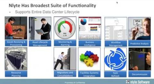 Bolster HPE IT Service Management (ITSM) with Data Center Service Management (DCSM) - Webinar Recording