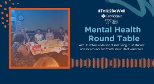 Talk2BeWell: Mental Health Roundtable