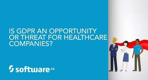 Episode 11: Is GDPR an opportunity or threat for healthcare companies?