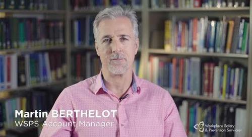 We love what we do: Martin Berthelot