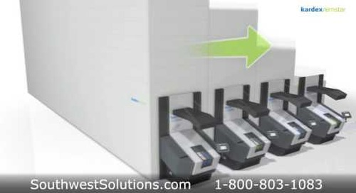 Vertical Buffer Module Automated Storage Parts Delivery Machine Picking Efficiency