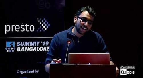 Presto Summit India 2019 - New Presto Scheduler to Improve Cache