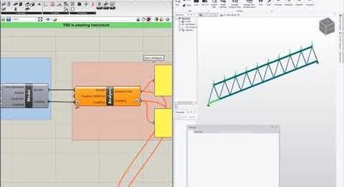 Data driven design with Grasshopper