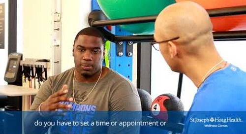 Donovan Carter at the Irvine Wellness Corner - 2 of 6
