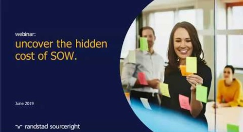 uncover the hidden cost of SOW | Talent Navigator webinar.