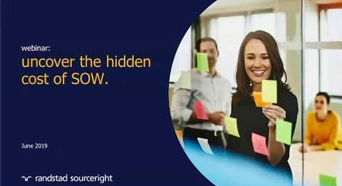 uncover the hidden cost of SOW | Talent Navigator webinar.