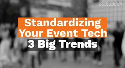 The Standardization of Event Tech