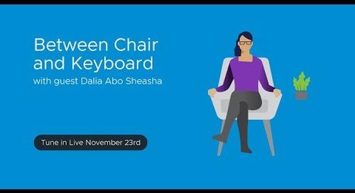 Tanzu.TV - Between Chair and Keyboard with guest Dalia Abo Sheasha