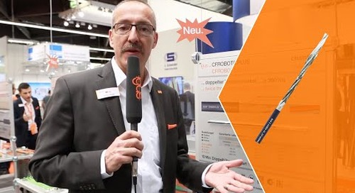 New igus chainflex cable innovations presented at SPS 2018