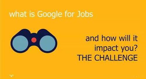 Google for Jobs — Germany & France | Talent Navigator webinar.