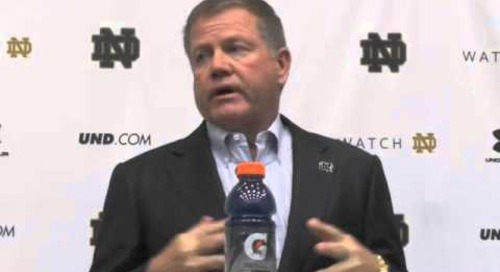 Brian Kelly Presser - Navy Week - 10/28/14