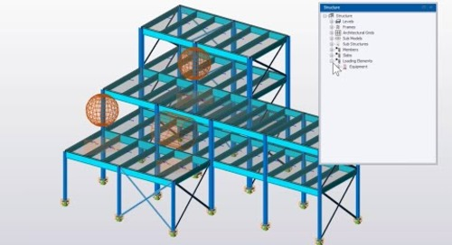 Equipment Loading in Tekla Structural Designer