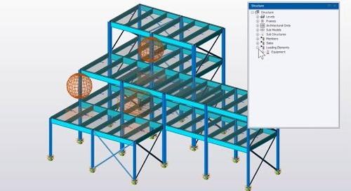 Equipment Loading in Tekla Structural Designer