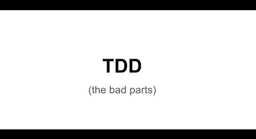 TDD: The Bad Parts — Matt Parker
