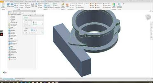 Model States and CAM in Autodesk Inventor 2022
