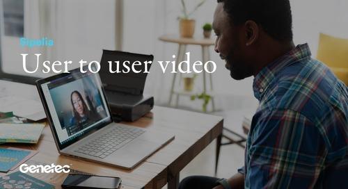 Sipelia - User to user video call
