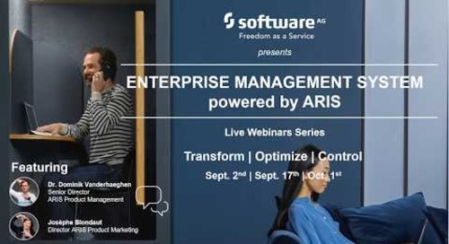 Optimize - Achieve Operational Excellence with an Enterprise Management System powered by ARIS