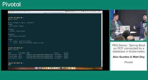 Getting MongoDB to a Developer—Fast!—Alex Guedes and Matt Day.