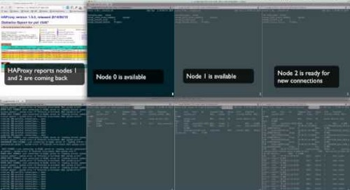 Demo of MySQL for Pivotal Cloud Foundry: High Availability Failover