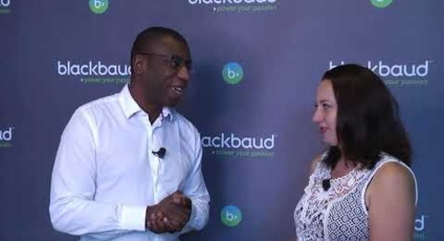 Blackbaud's President Talks bbcon UK!