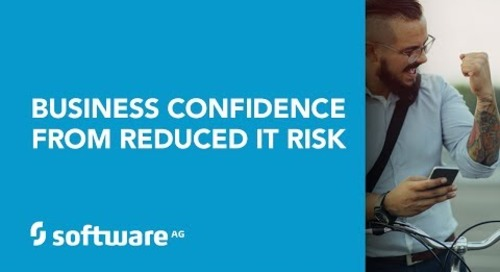 Business Confidence from Reduced IT Risk