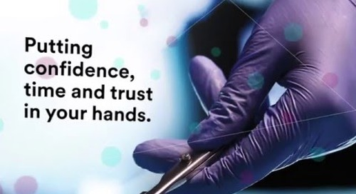 Putting Trust and Confidence in your Hands – 3M Sterilization Solutions