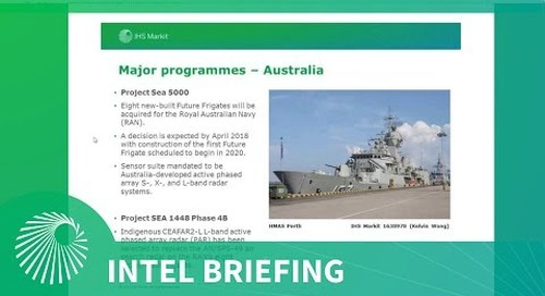 Intel Briefing: Maritime Multifunction and Surveillance Radar Systems: Market and Tech Outlook