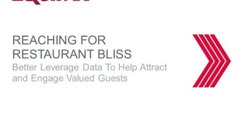 Ingredients for Restaurant Success – Leverage Data to Attract and Engage Valued Guests