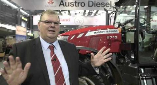 TechAgro 2016 - European Premiere of MF 6700 Global Tractors