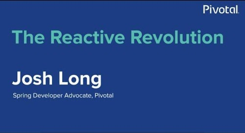 Singapore - The Reactive Revolution - Josh Long