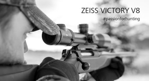 ZEISS VICTORY V8 riflescope in the field