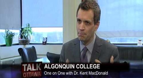 Talk Ottawa interviews AC President Dr. Kent MacDonald - Part 3