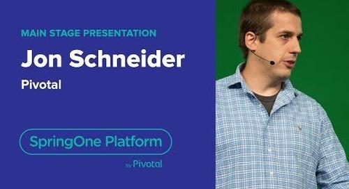 Jon Schneider, Pivotal—Continuous Delivery with Spinnaker, SpringOne Platform 2018