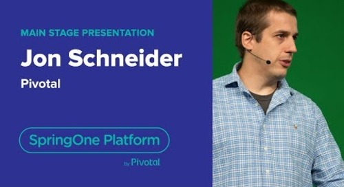 Jon Schneider, Pivotal—Continuous Delivery with Spinnaker, SpringOne Platform 2018