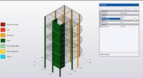 Drift Enhancements in Tekla Structural Designer